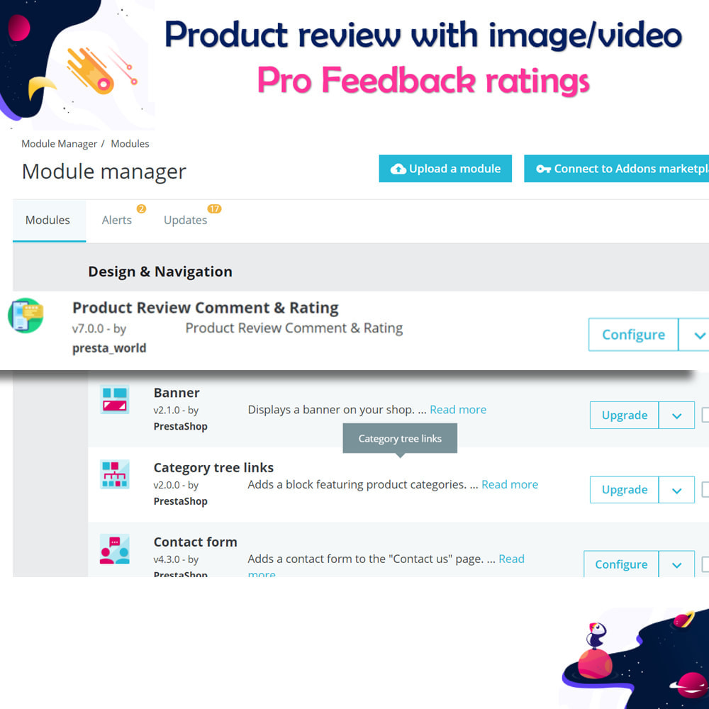 module - Customer Reviews - Product review with image/video Pro Feedback ratings - 4