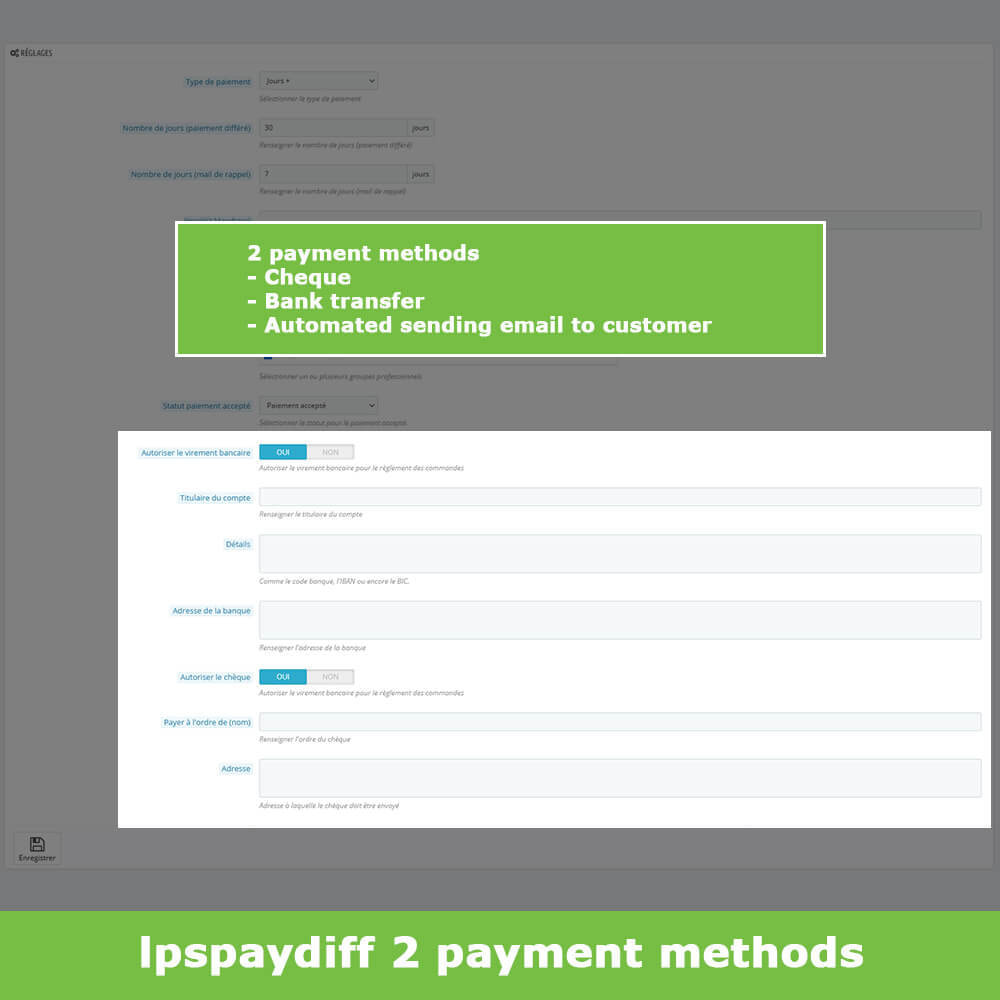 module - Альтернативных способов оплаты - B2B Differed Payment - 5
