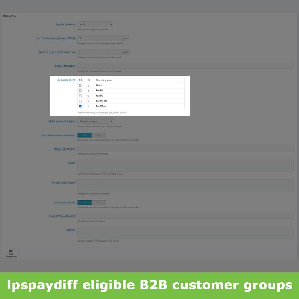 module - Альтернативных способов оплаты - B2B Differed Payment - 6