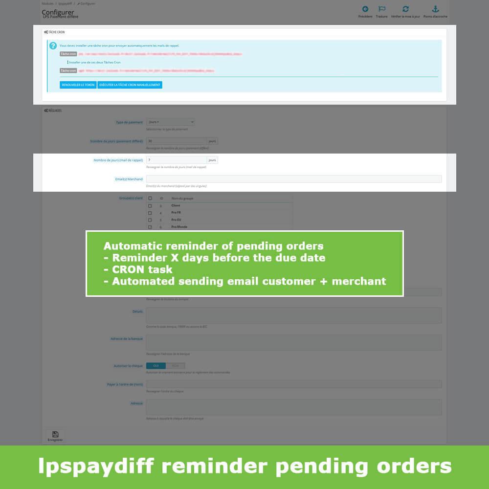 module - Альтернативных способов оплаты - B2B Differed Payment - 7