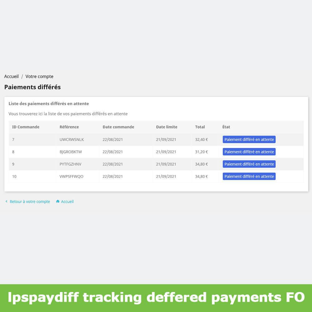 module - Альтернативных способов оплаты - B2B Differed Payment - 10