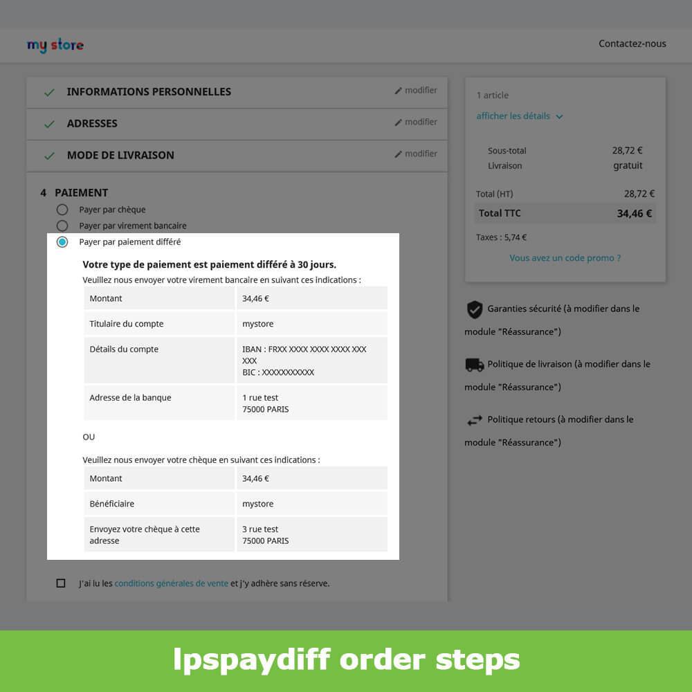 module - Альтернативных способов оплаты - B2B Differed Payment - 11
