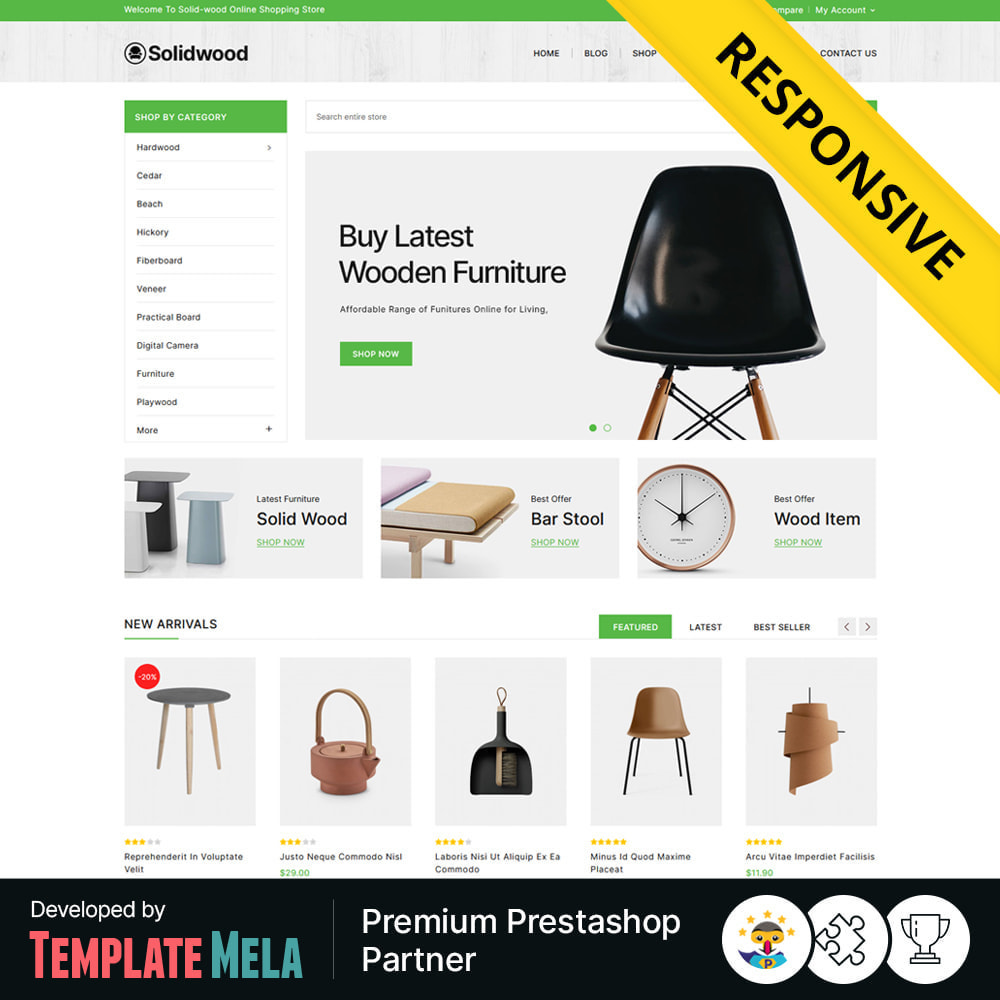 theme - Casa & Giardino - Solid Wood - Online Furniture Store - 1