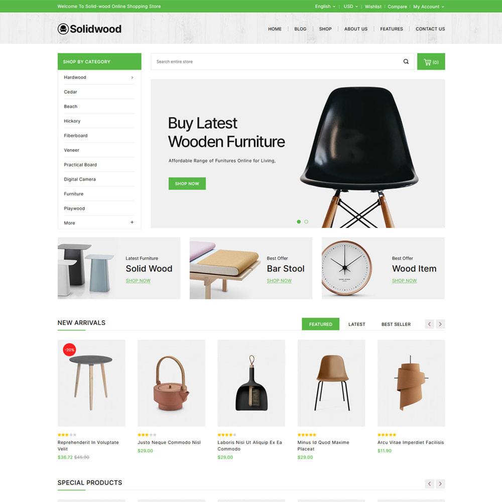 theme - Casa & Giardino - Solid Wood - Online Furniture Store - 2