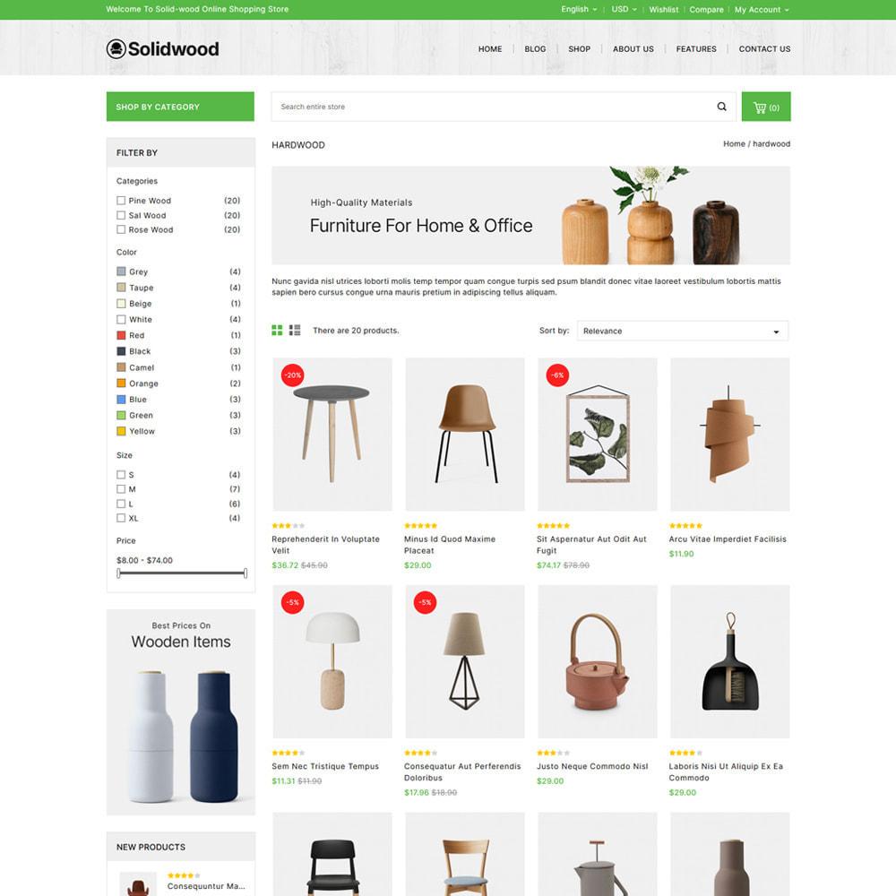 theme - Casa & Giardino - Solid Wood - Online Furniture Store - 3