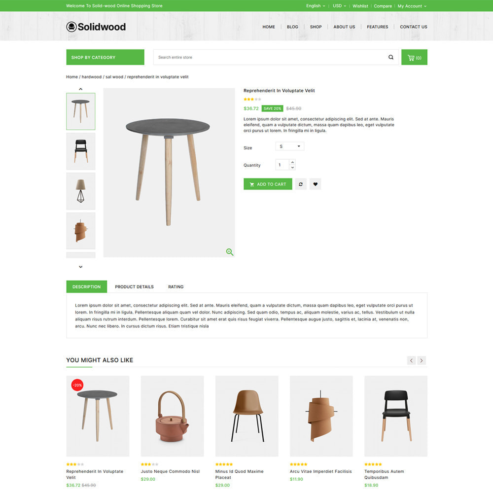 theme - Casa & Giardino - Solid Wood - Online Furniture Store - 4
