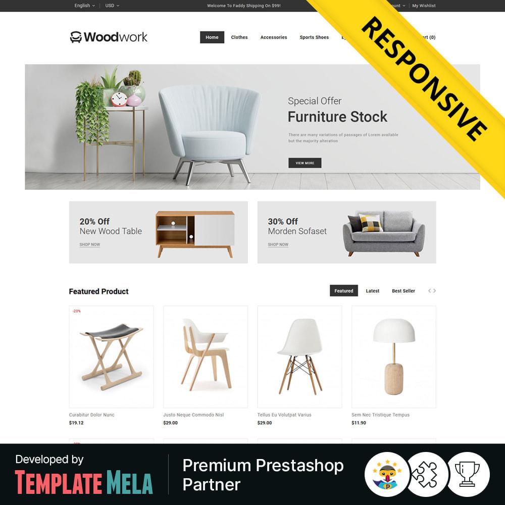 theme - Heim & Garten - WoodWork - Furniture & Art Store - 1