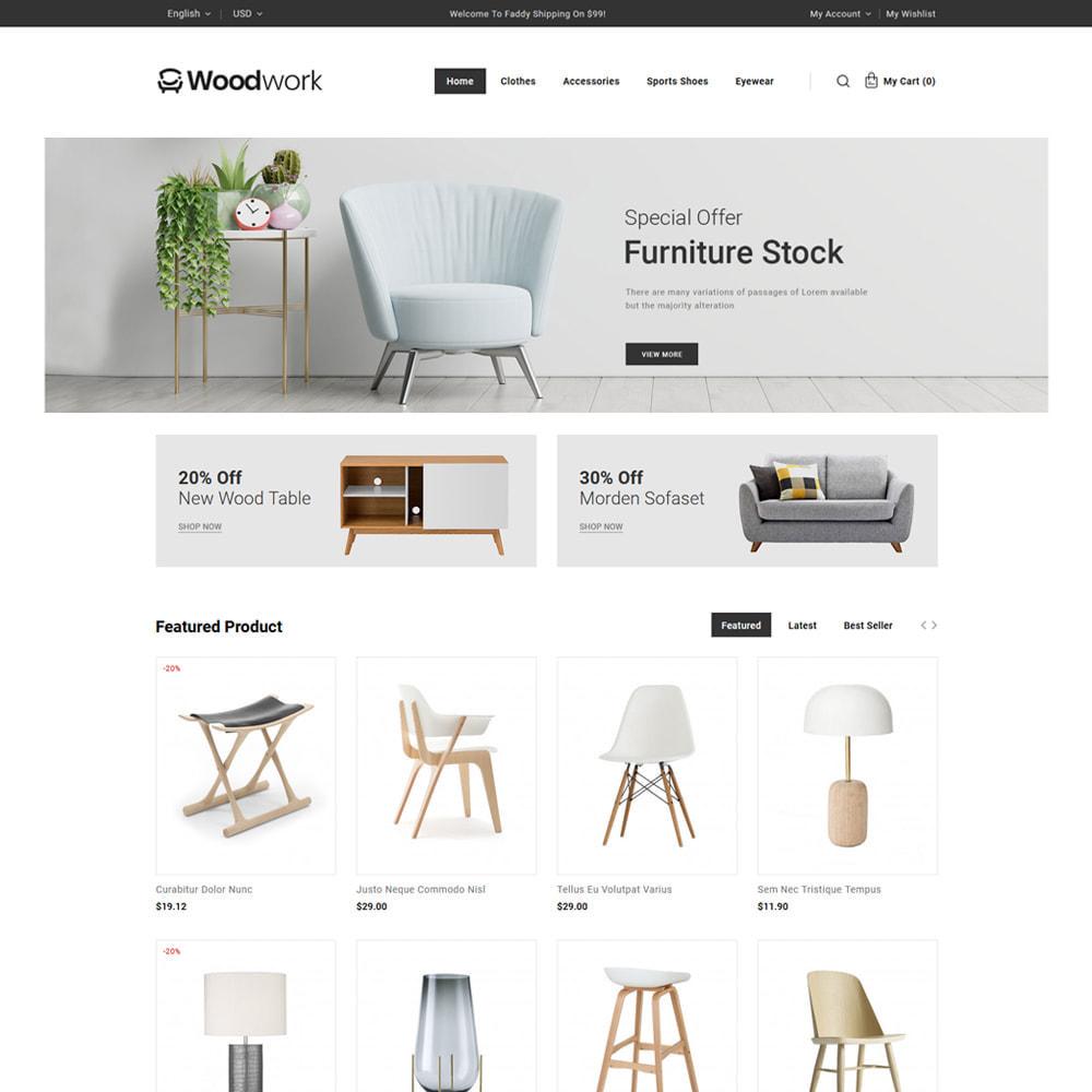 theme - Heim & Garten - WoodWork - Furniture & Art Store - 2