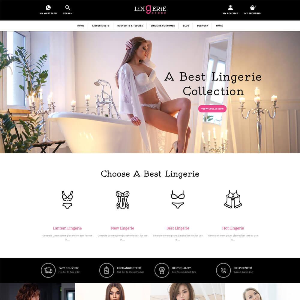 theme - Lingerie & Adult - Lingerie - Lingerie Store - 2