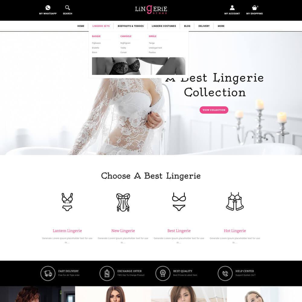 theme - Lingerie & Adult - Lingerie - Lingerie Store - 3
