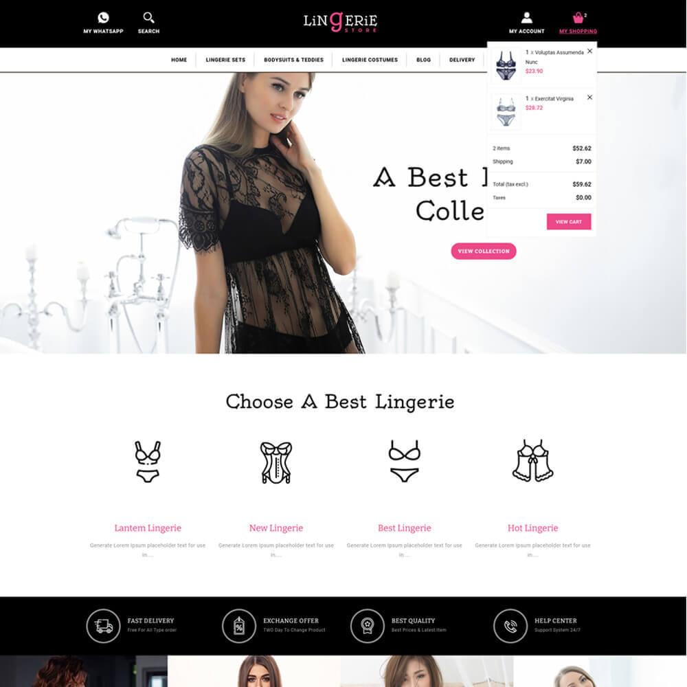 theme - Lingerie & Adult - Lingerie - Lingerie Store - 4
