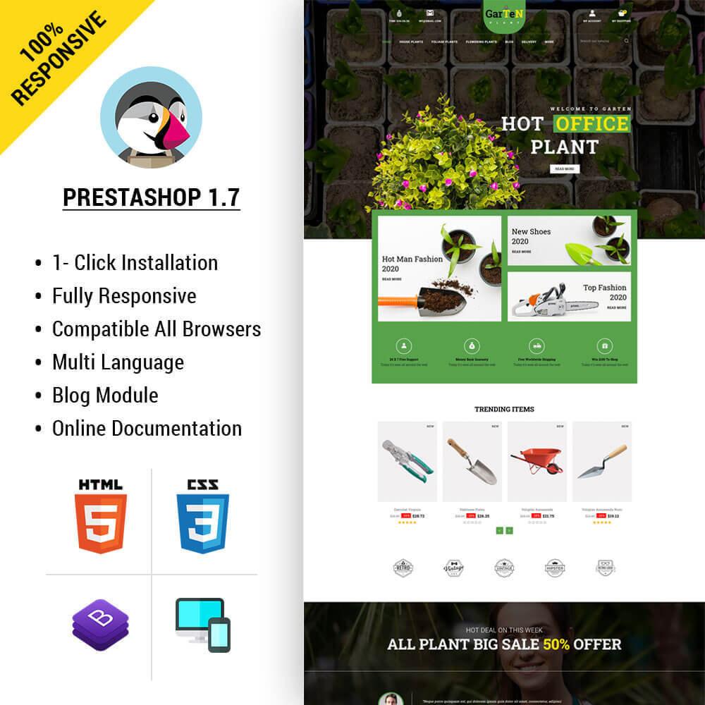 theme - Home & Garden - Garten - Plant Store - 1