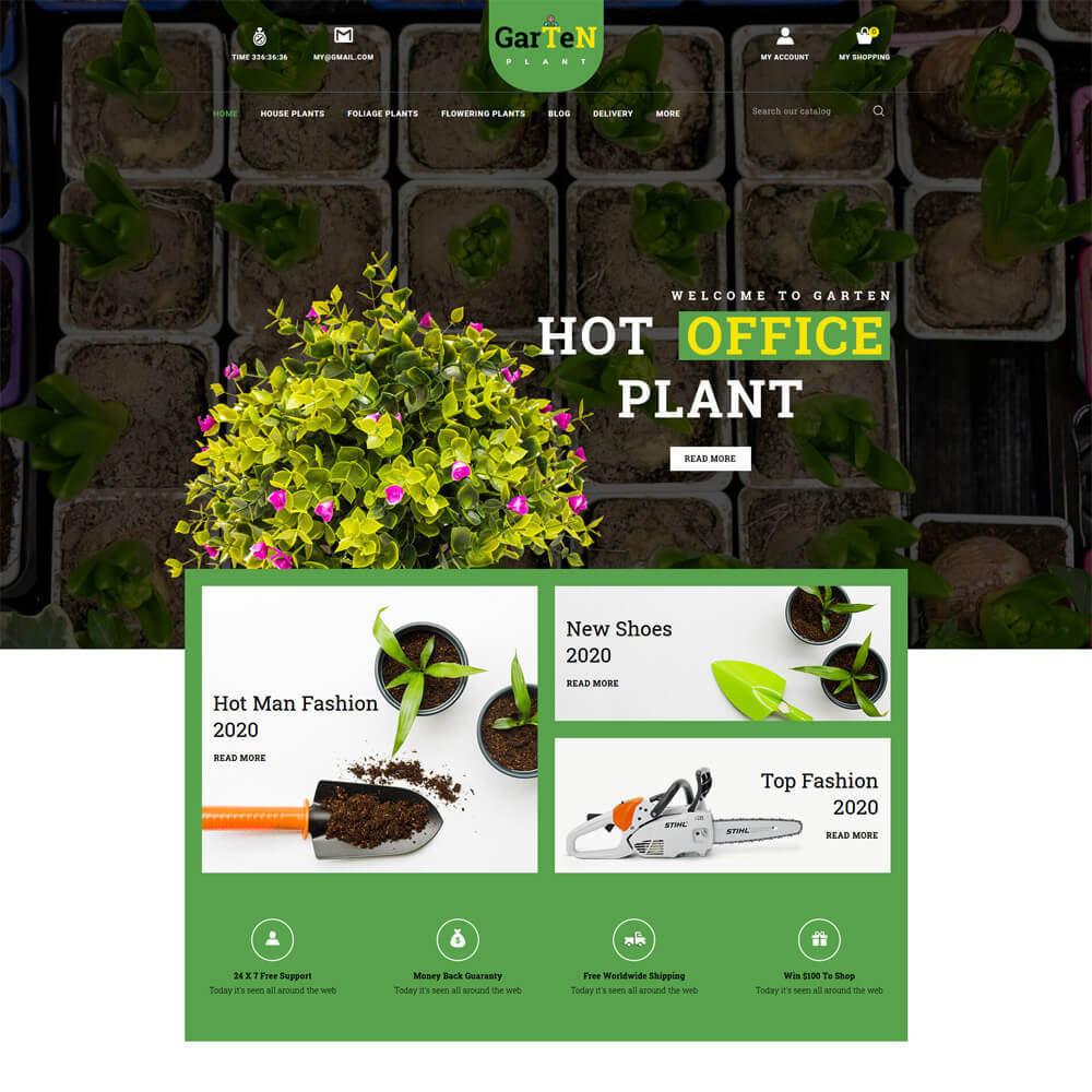 theme - Home & Garden - Garten - Plant Store - 2