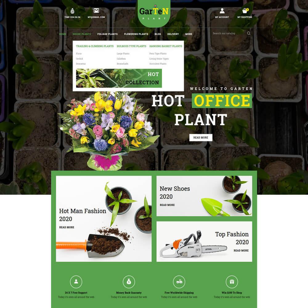 theme - Home & Garden - Garten - Plant Store - 3