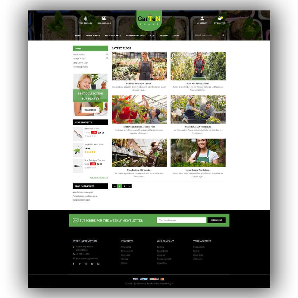 theme - Home & Garden - Garten - Plant Store - 7