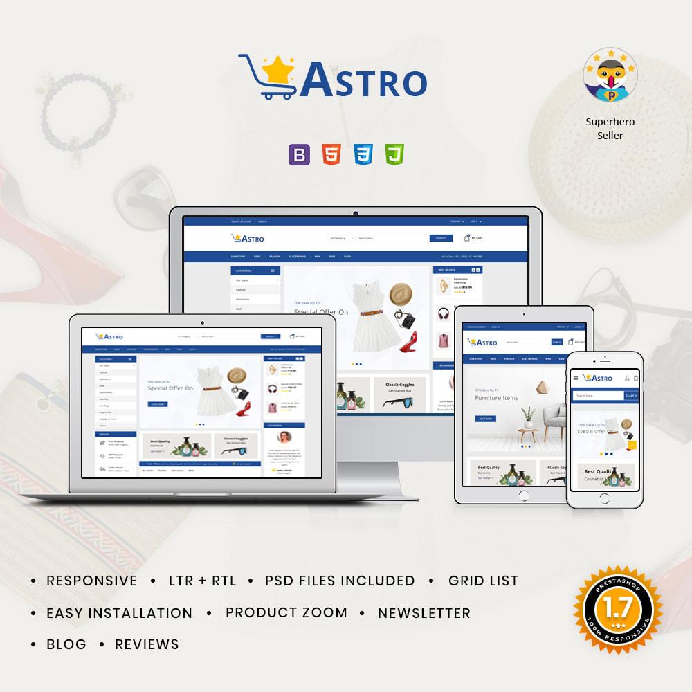 theme - Fashion & Shoes - Astro Minimal Fashion Store - 1