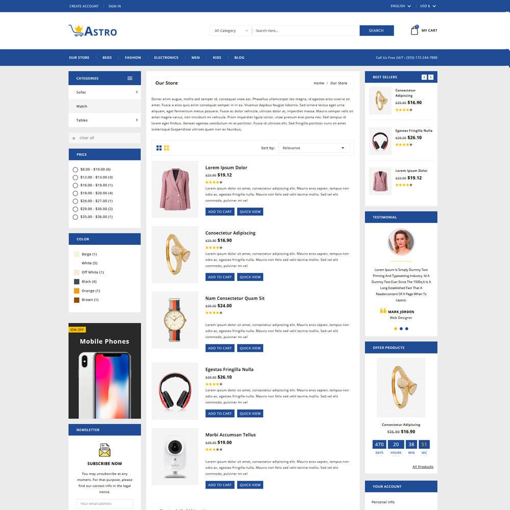 theme - Fashion & Shoes - Astro Minimal Fashion Store - 4
