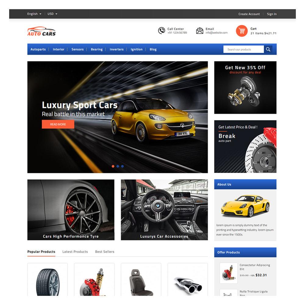 theme - Automotive & Cars - Autocars Automotive & Cars Store - 2