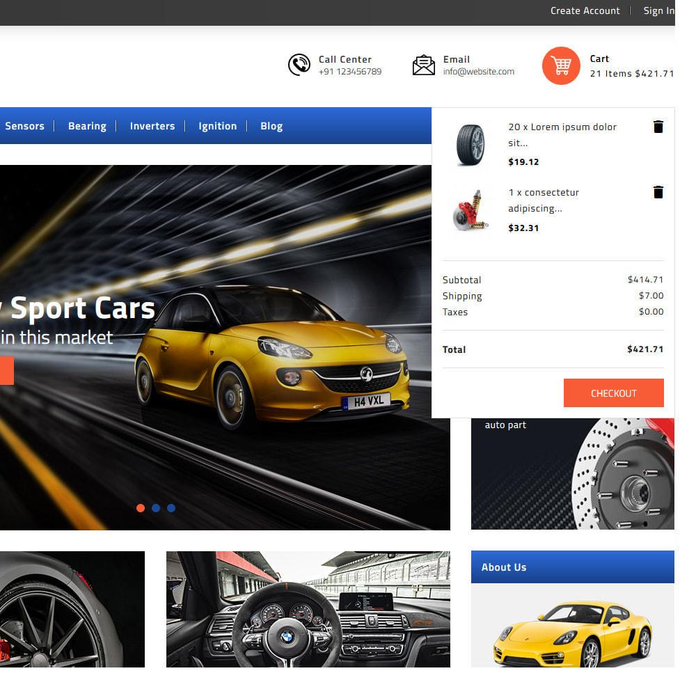 theme - Automotive & Cars - Autocars Automotive & Cars Store - 7