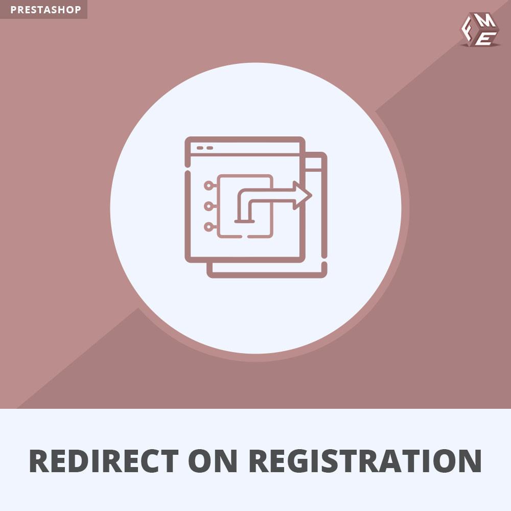 module - URL & Redirects - Redirect Customer on Registration, Login, Logout - 1