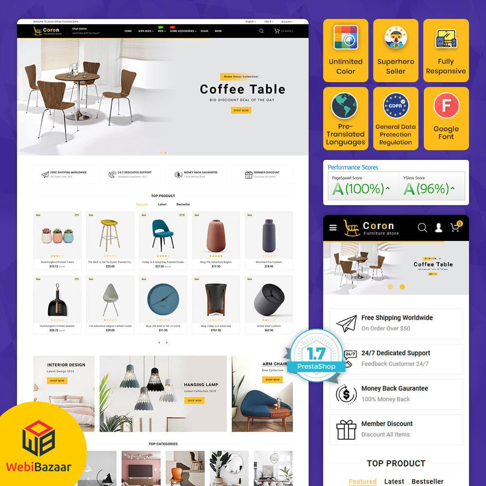 theme - Casa & Jardins - Coron - Furniture & Interior Home Decor Store - 1