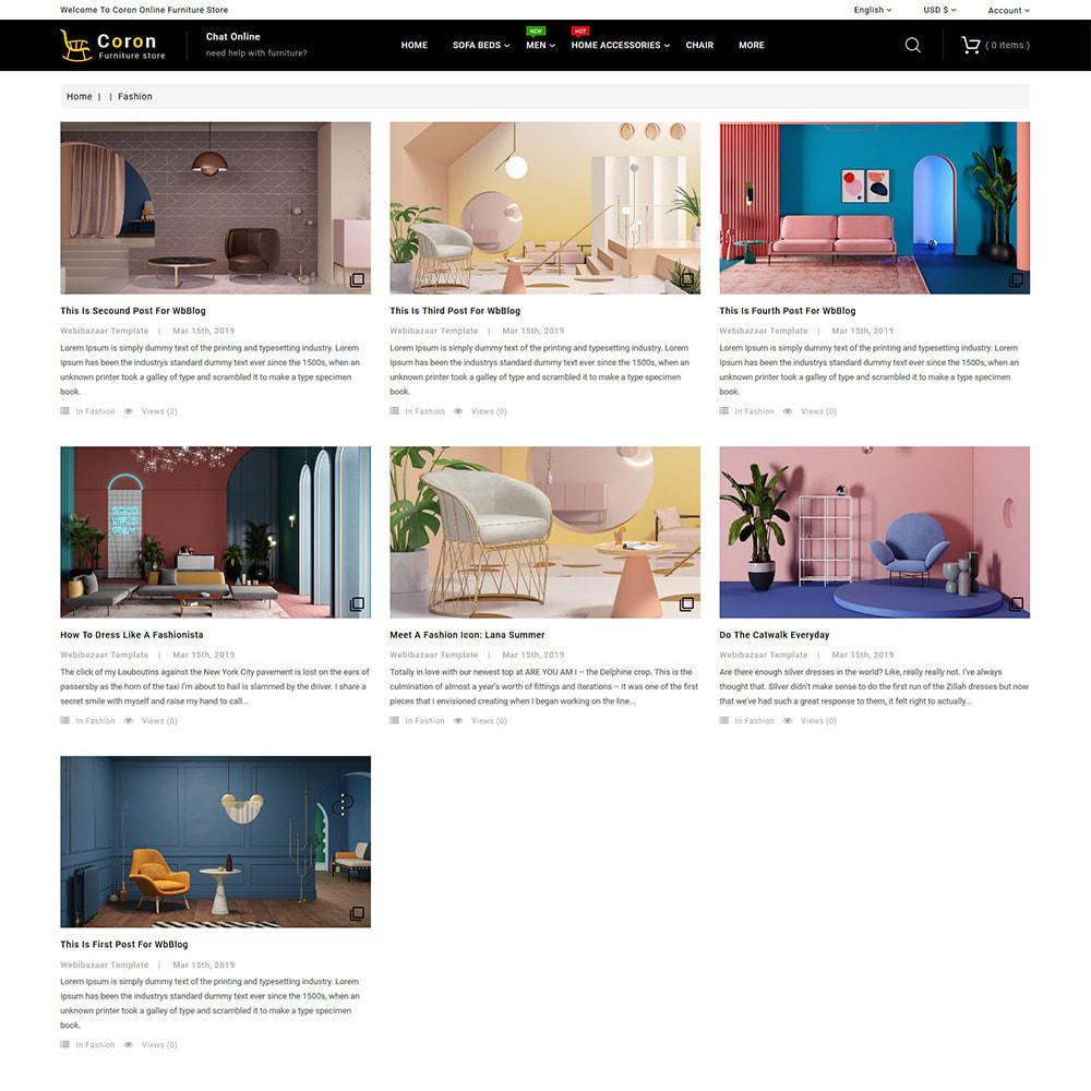 theme - Casa & Jardins - Coron - Furniture & Interior Home Decor Store - 7