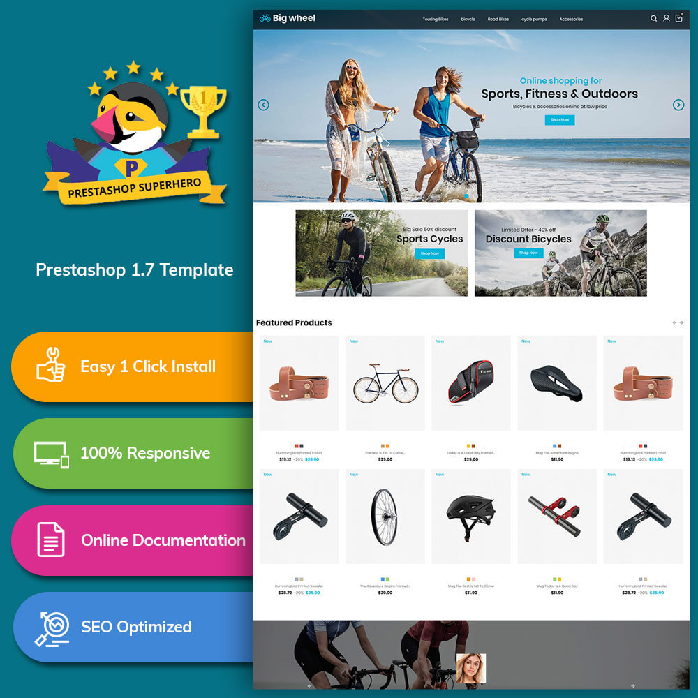 theme - Automotive & Cars - Big Wheel  - Tyre Motor Spare Wheel Store - 1