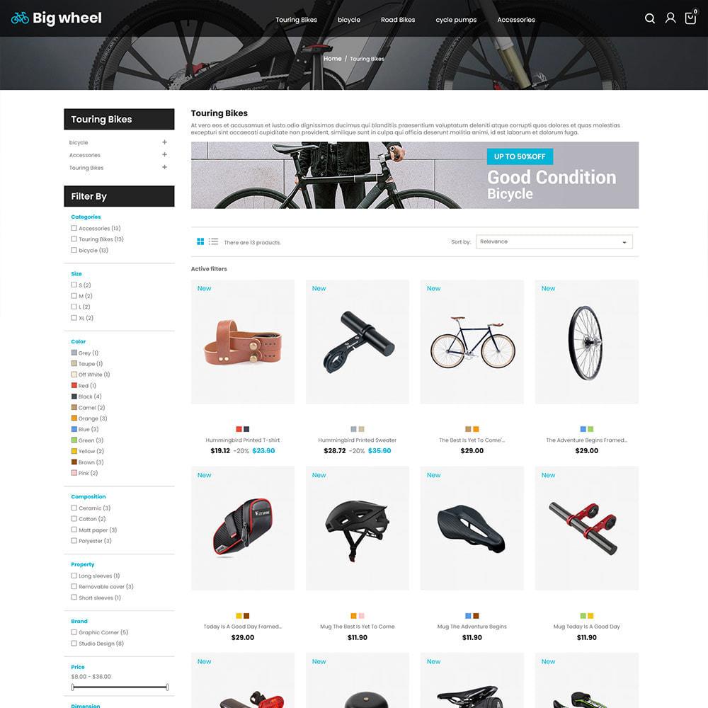 theme - Automotive & Cars - Big Wheel  - Tyre Motor Spare Wheel Store - 3