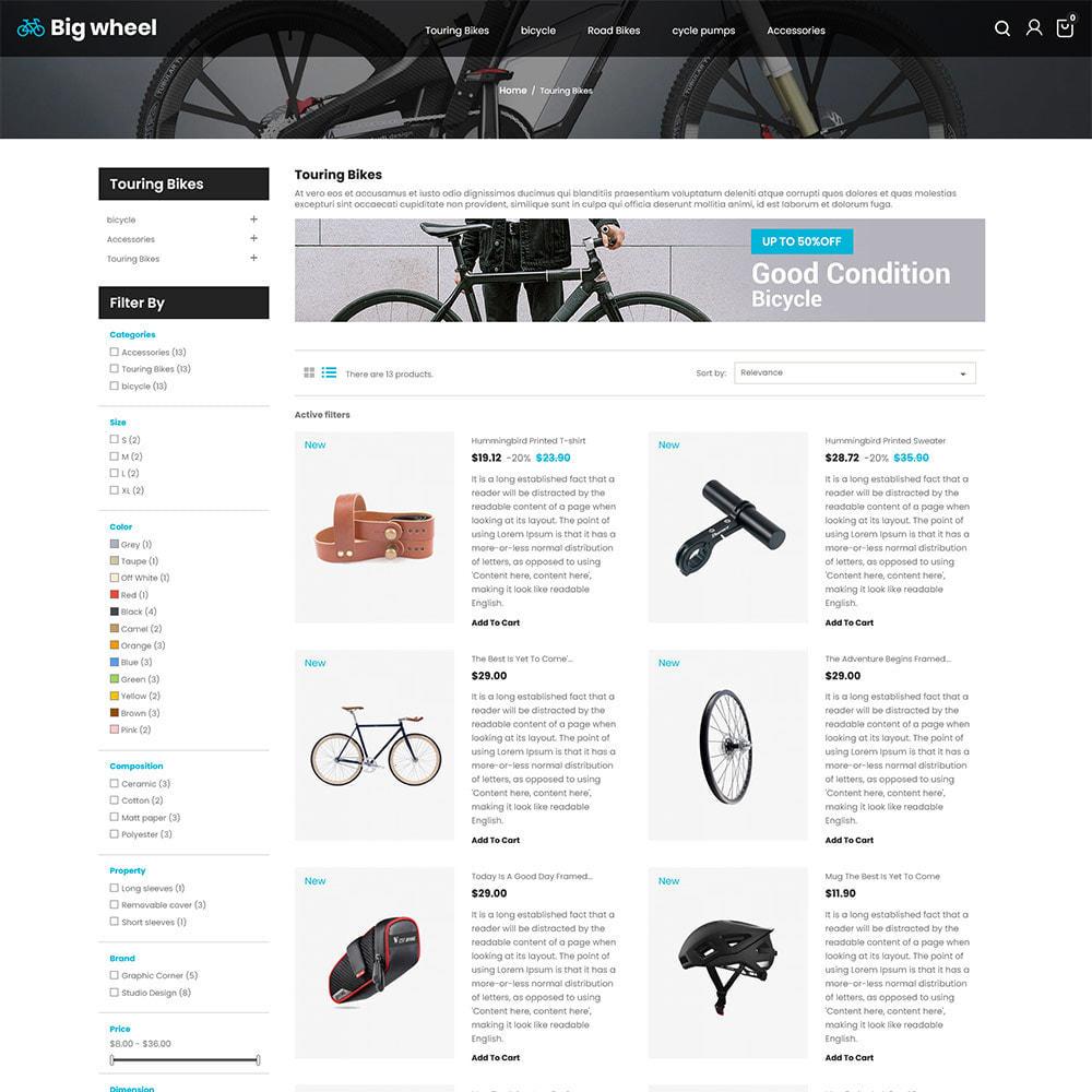 theme - Automotive & Cars - Big Wheel  - Tyre Motor Spare Wheel Store - 4
