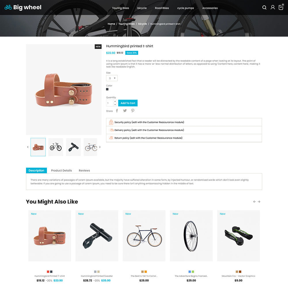 theme - Automotive & Cars - Big Wheel  - Tyre Motor Spare Wheel Store - 5