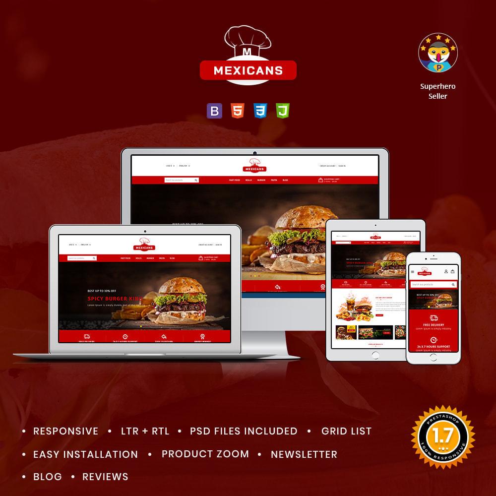 theme - Food & Restaurant - Maxicans Food & Restaurant Store - 1