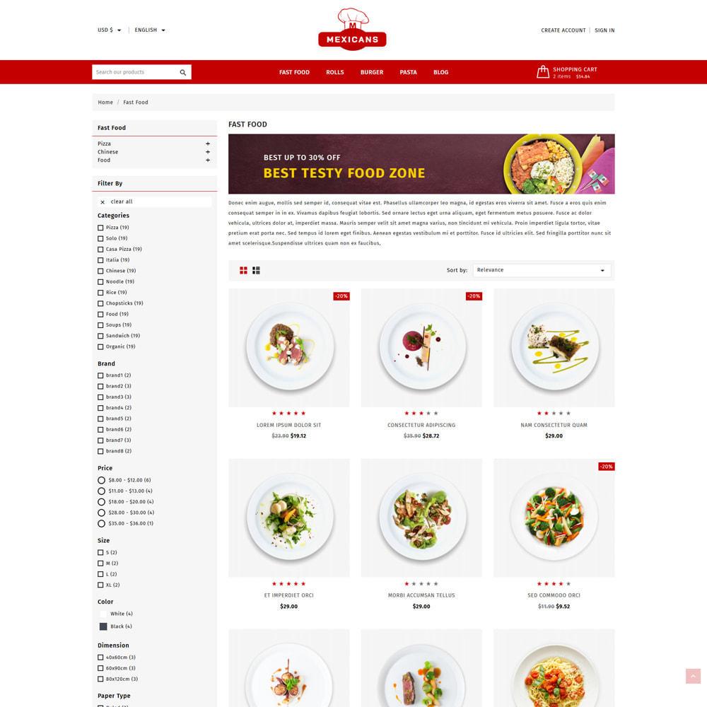 theme - Food & Restaurant - Maxicans Food & Restaurant Store - 3
