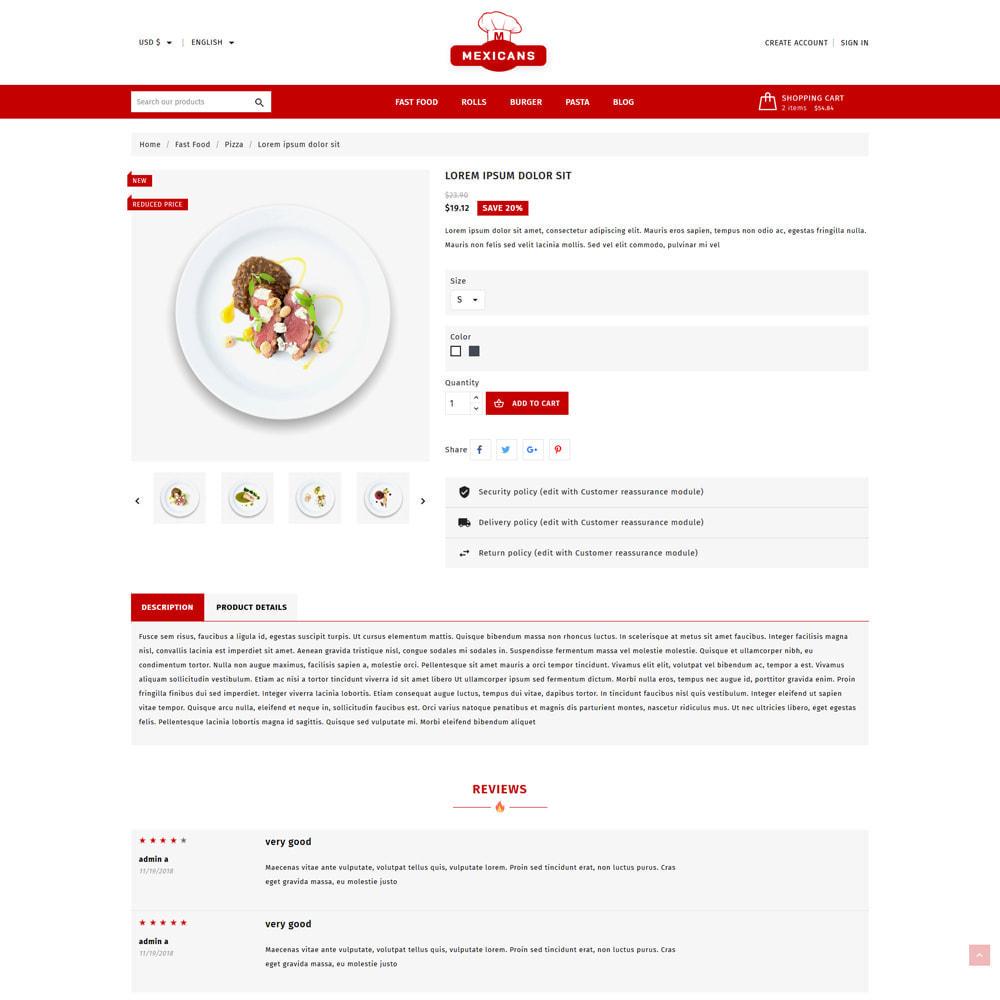 theme - Food & Restaurant - Maxicans Food & Restaurant Store - 5