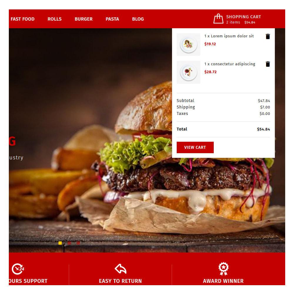 theme - Food & Restaurant - Maxicans Food & Restaurant Store - 7