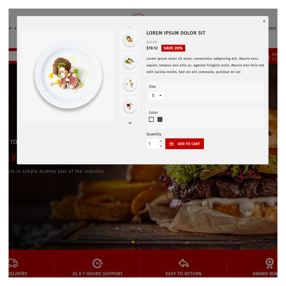 theme - Food & Restaurant - Maxicans Food & Restaurant Store - 9