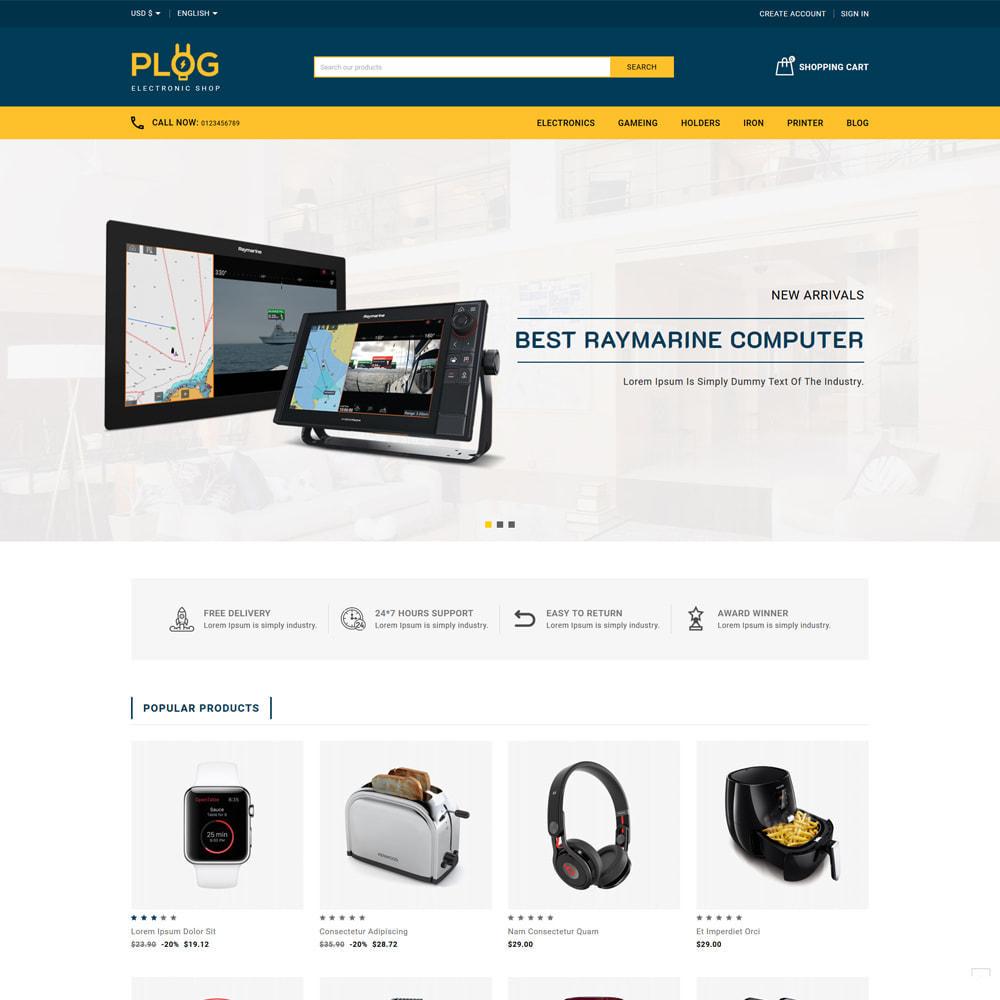 theme - Electronics & Computers - Plog Electronics & Computers Store - 2