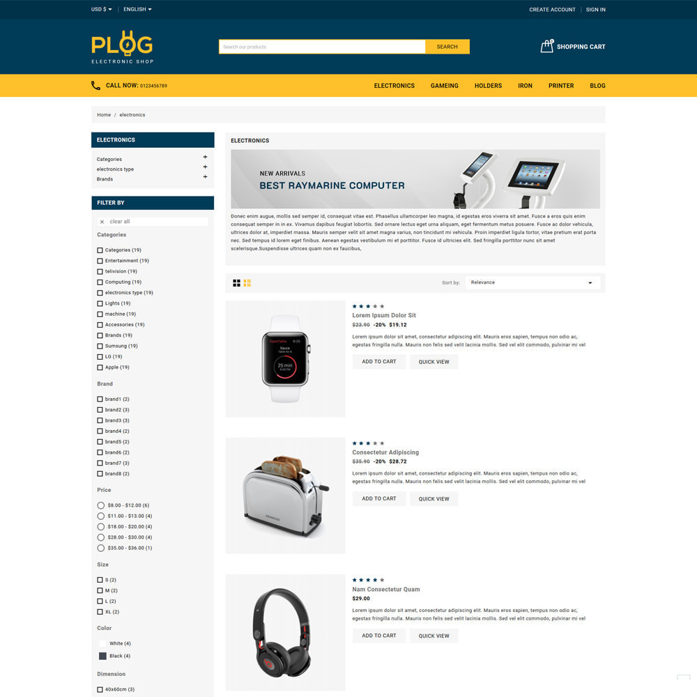 theme - Electronics & Computers - Plog Electronics & Computers Store - 4