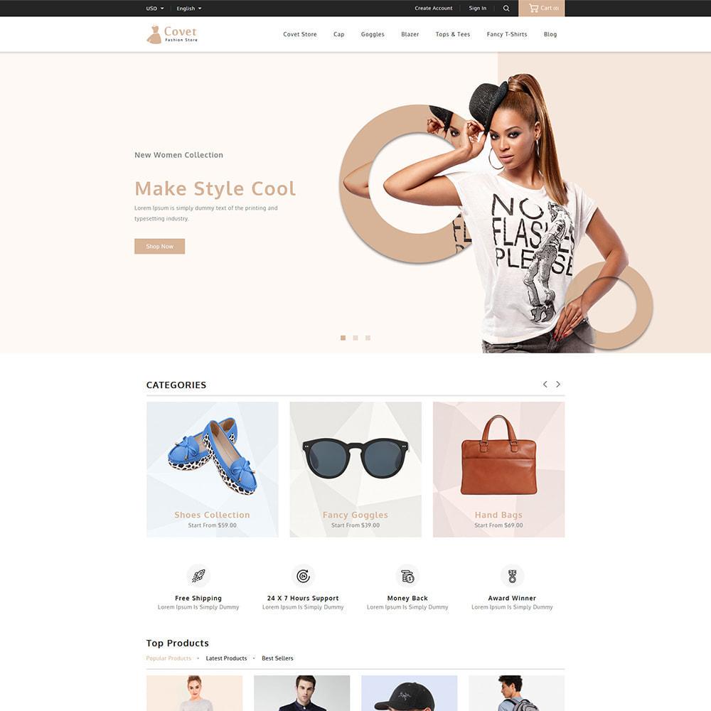 theme - Fashion & Shoes - Covet Online Fashion Store - 2