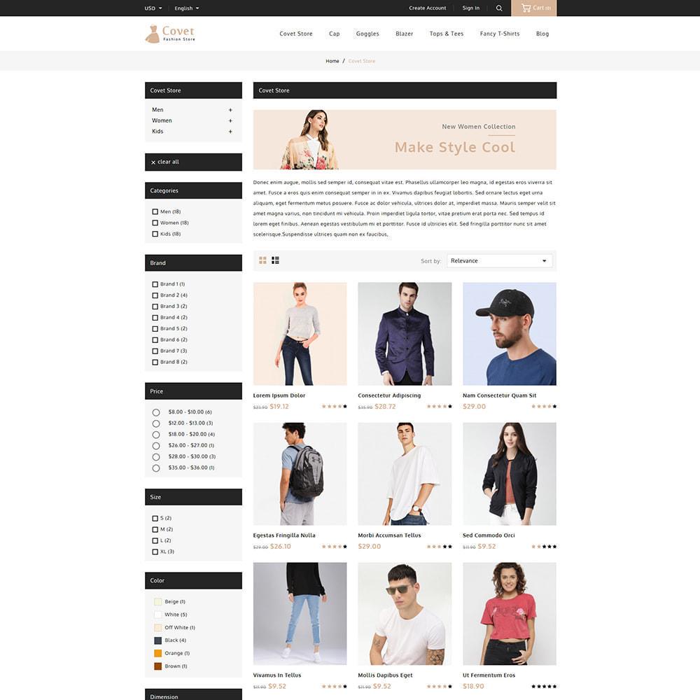theme - Fashion & Shoes - Covet Online Fashion Store - 3