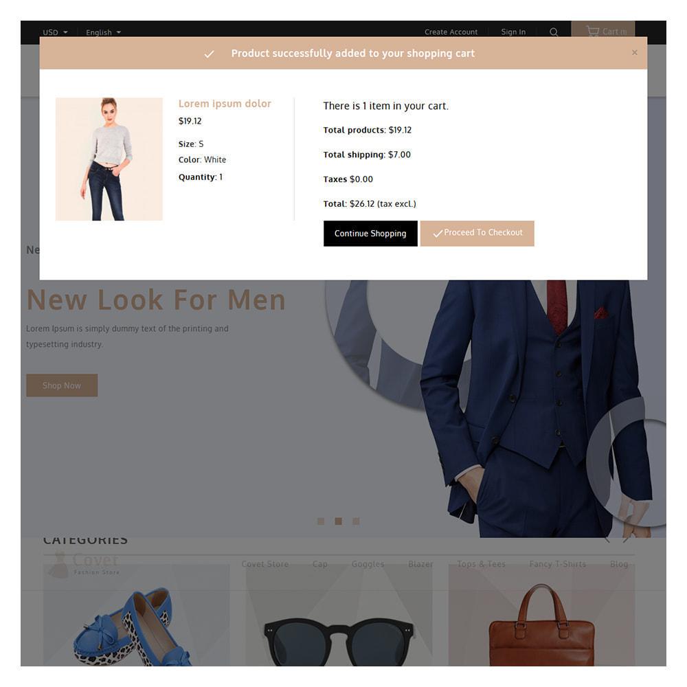 theme - Fashion & Shoes - Covet Online Fashion Store - 6