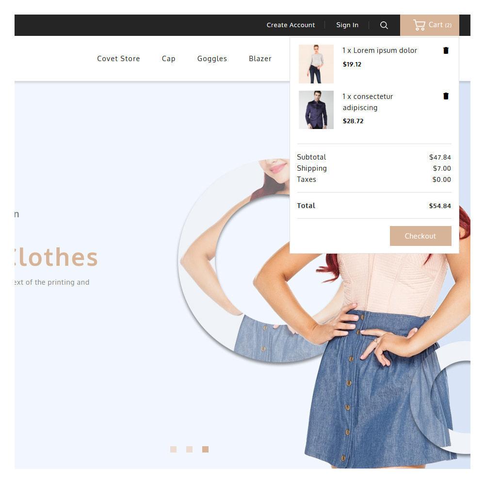 theme - Fashion & Shoes - Covet Online Fashion Store - 7