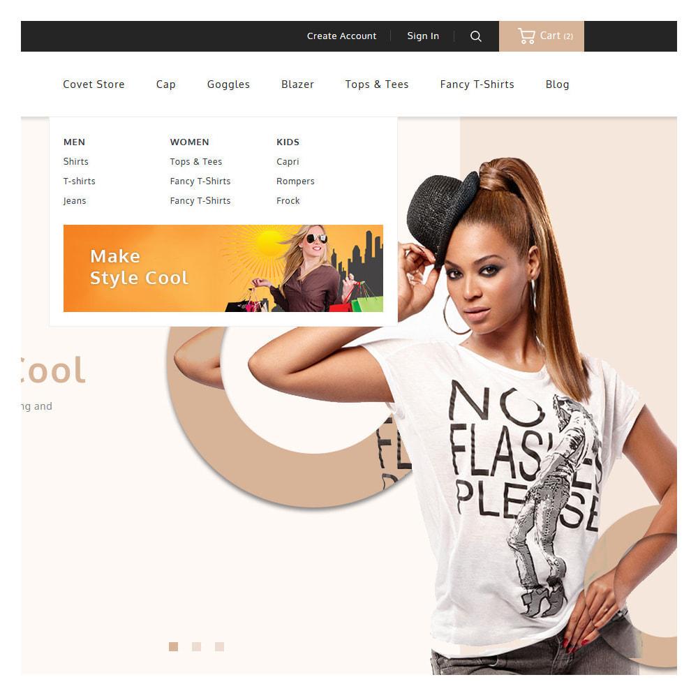 theme - Fashion & Shoes - Covet Online Fashion Store - 8