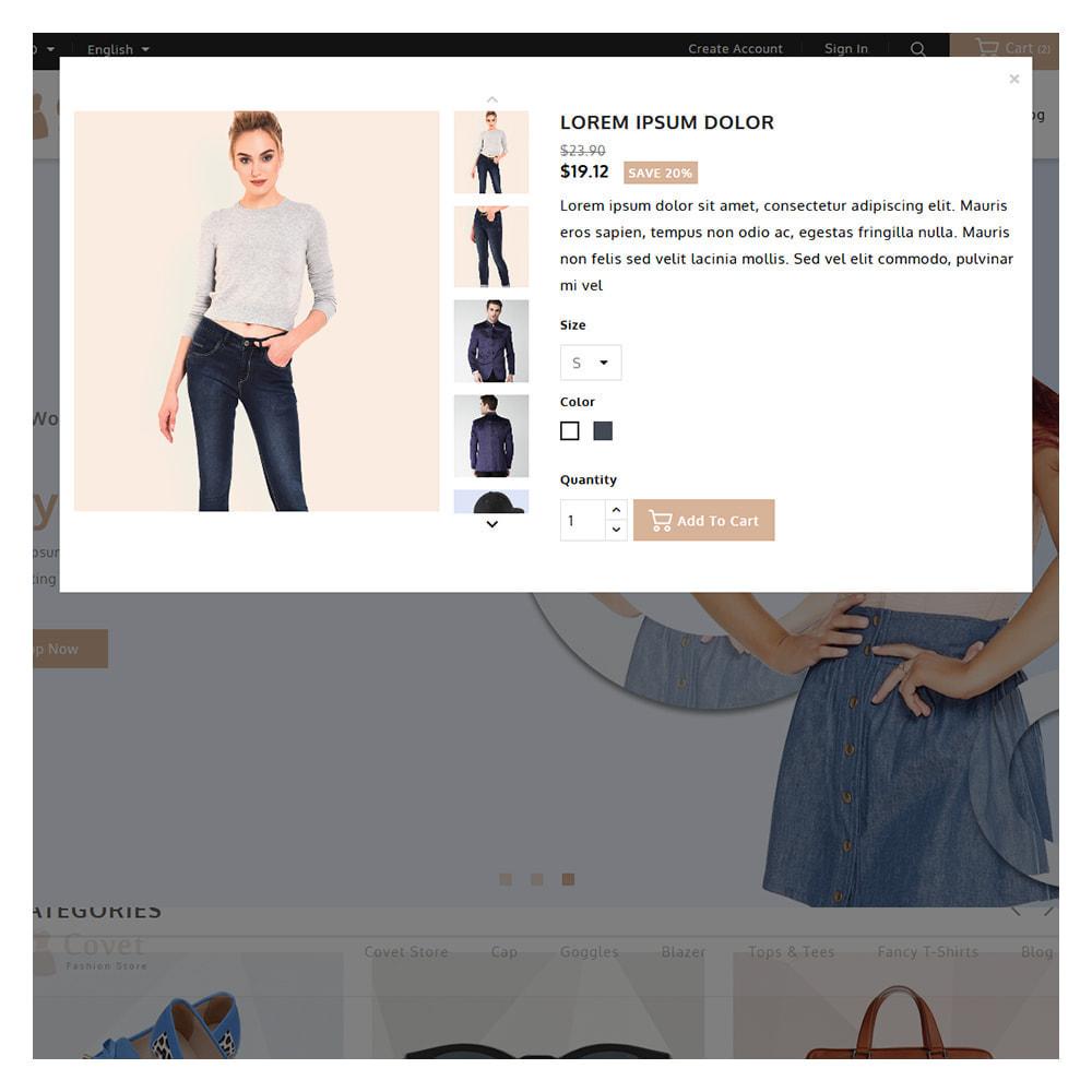 theme - Fashion & Shoes - Covet Online Fashion Store - 9