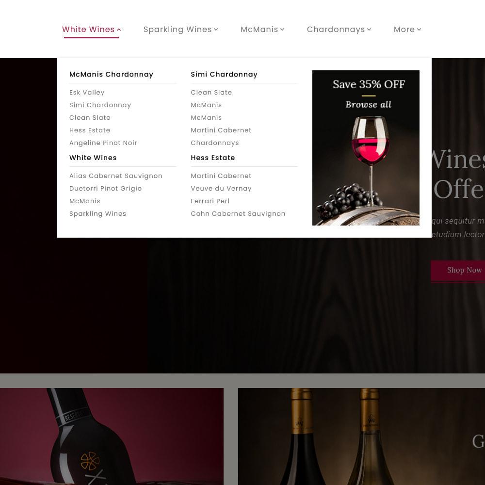 theme - Boissons & Tabac - Wine Club - Drink & Tobacco Store - 10