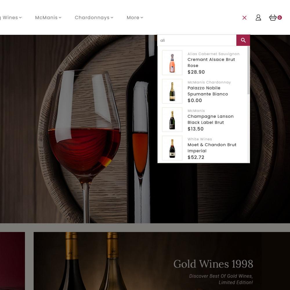 theme - Boissons & Tabac - Wine Club - Drink & Tobacco Store - 11