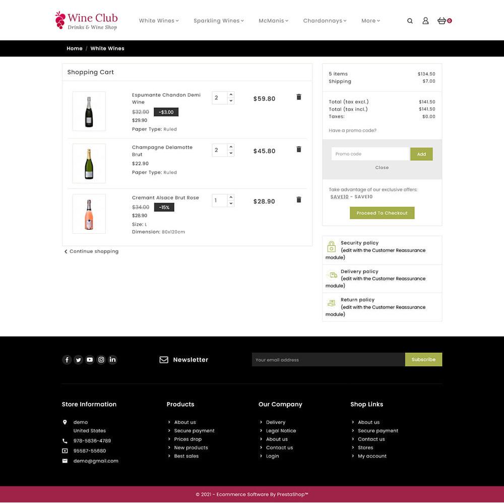 theme - Bebidas y Tabaco - Wine Club - Drink & Tobacco Store - 7
