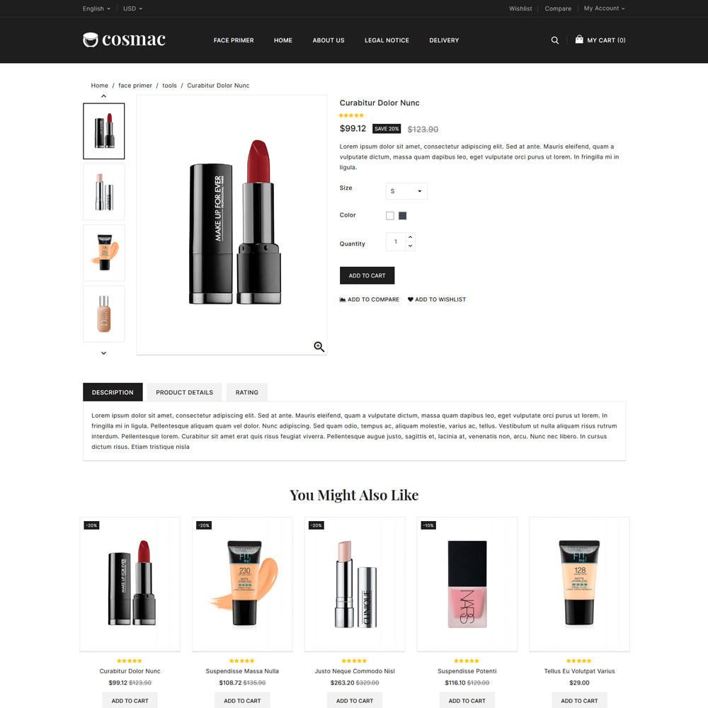 theme - Salute & Bellezza - Cosmac Cosmetics & Beauty Store - 4
