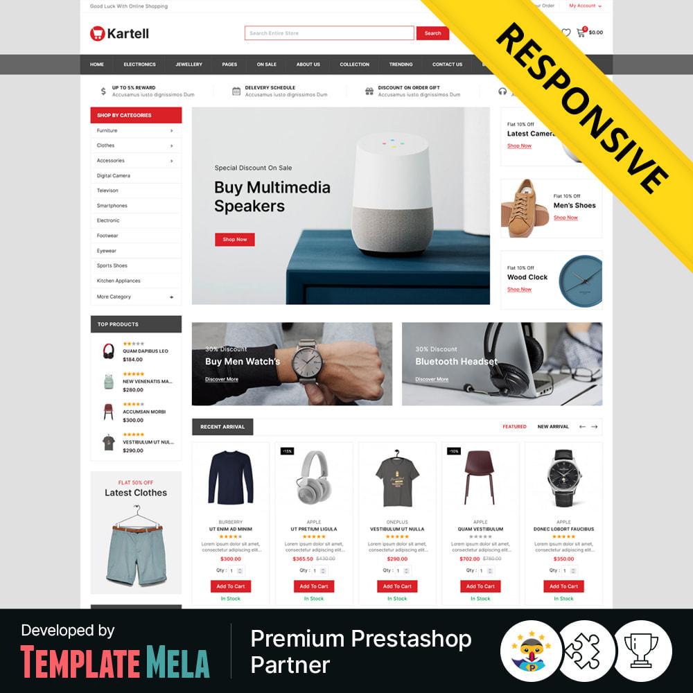 theme - Electronics & Computers - Kartell -Electronics & Multipurpose Mega Shop - 1