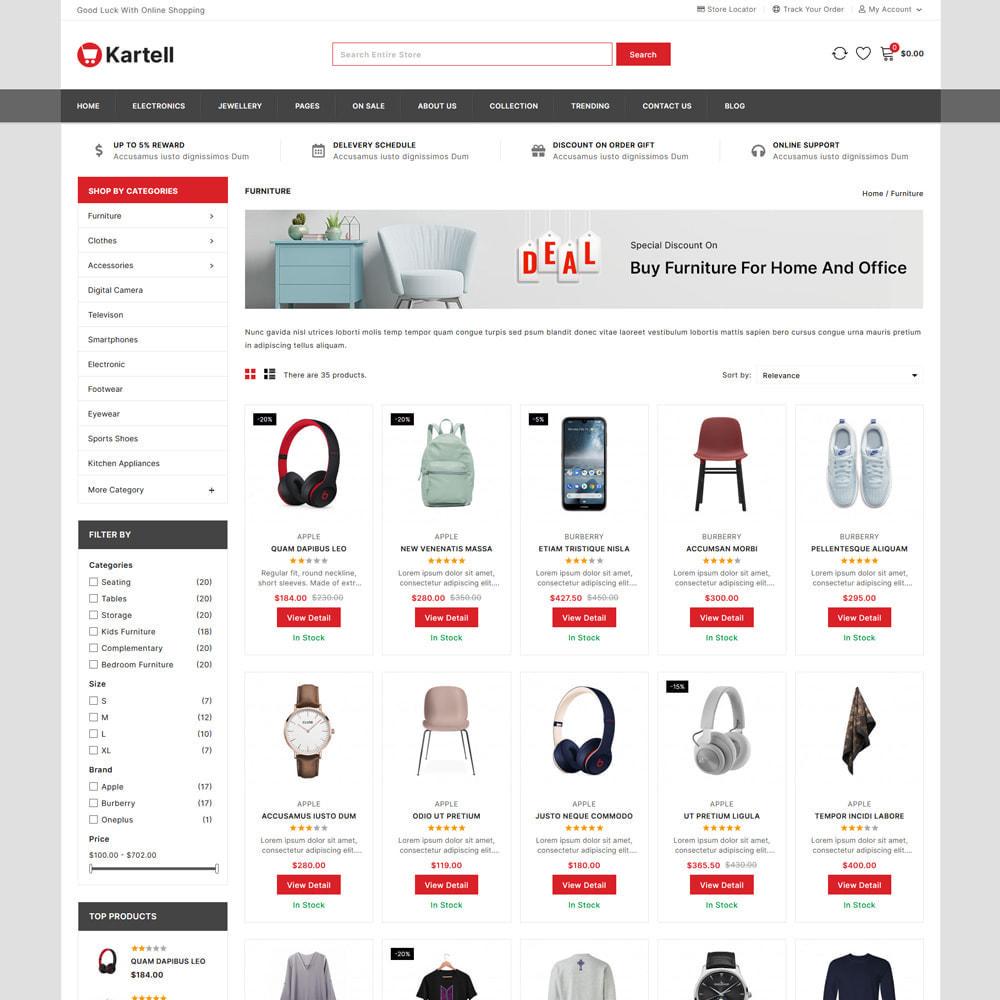 theme - Electronics & Computers - Kartell -Electronics & Multipurpose Mega Shop - 3