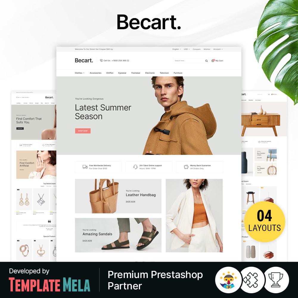 theme - Moda y Calzado - Becart Fashion Store - 1